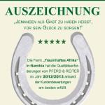 Auszeichnung Pferd&Reiter
