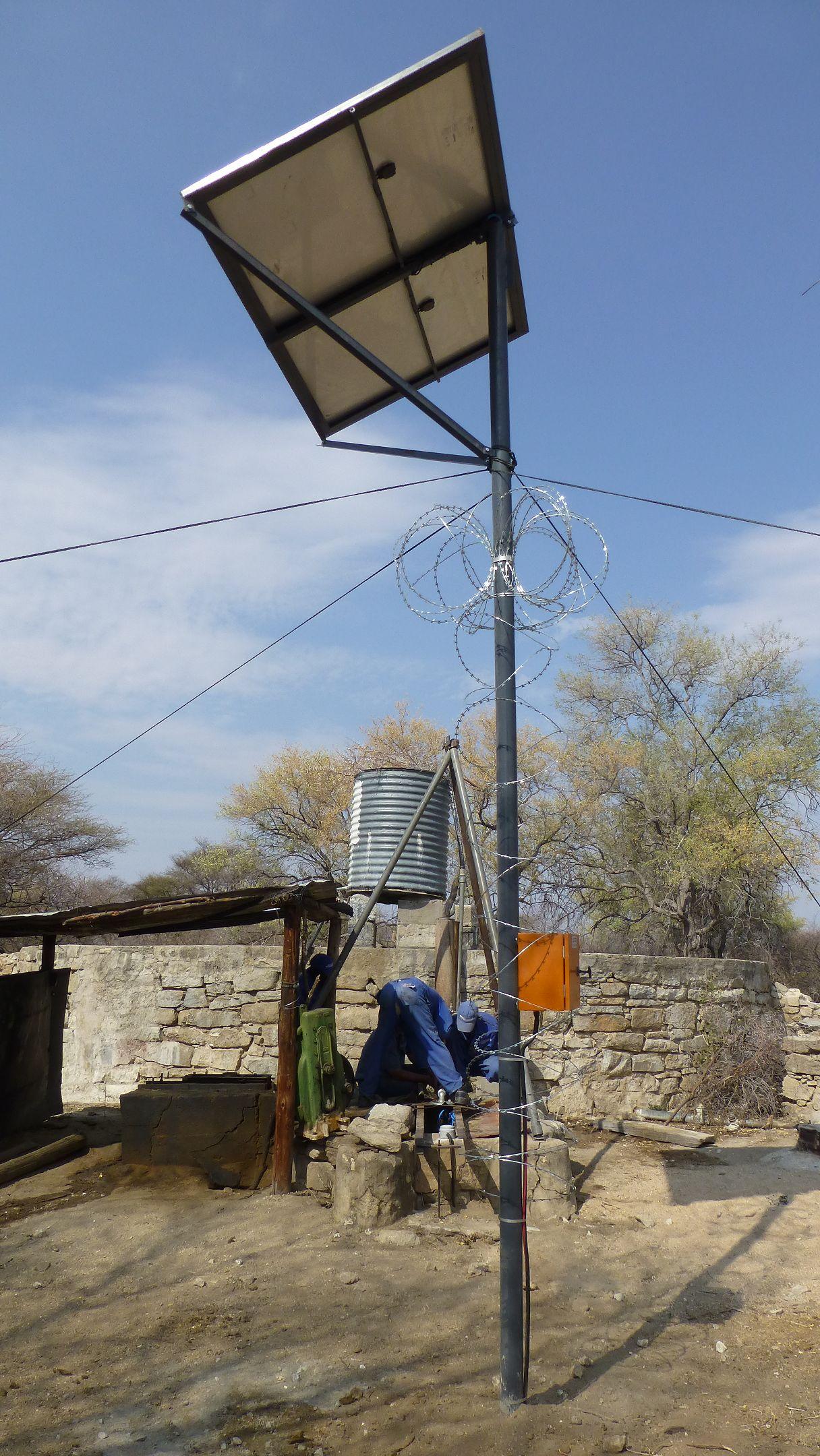 Solar Tierposten