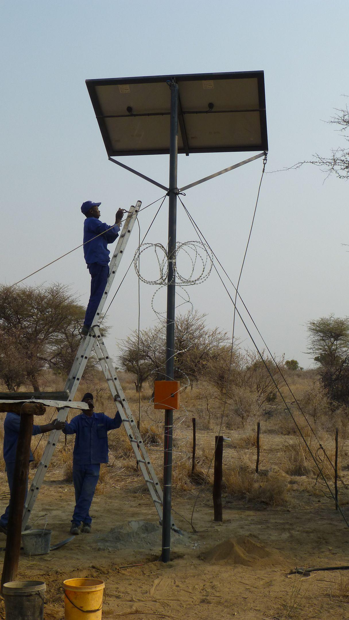 Solar Mittelposten