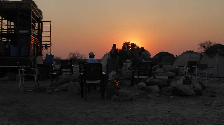 Abends am Omaruru