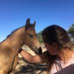 Namib Rose mit Anna-Lena