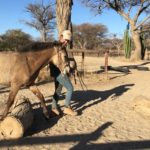 Alina mit Namib Rose